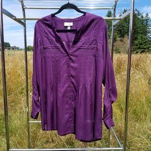 1X Dressbarn blouse